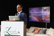 The Spine Center's Charles S. Theofilos, M.D. presents information on regenerative stem cell therapy at the Winter Equestrian Festival on Feb. 4, 2016.