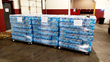 LaserShip donates water to Flint water crisis