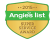 Sir Grout of Western NJ Recently Presented with the Angie's List Super Service Award for Exceptional Customer Service