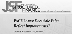 PACE Loans: Does Sale Value Reflect Improvements?