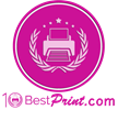 Best Print Firm Awards Presented by 10 Best Print for the Month of February