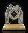 "Rene Lalique Art Deco ""Deux Figurines"" clock circa 1927"