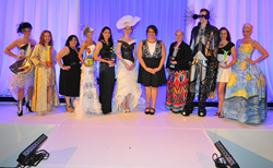 Eco-Fashionistas Transformed 'Trash 2 Trends' at Extravagant...