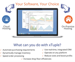 Your software, your choice with xTuple