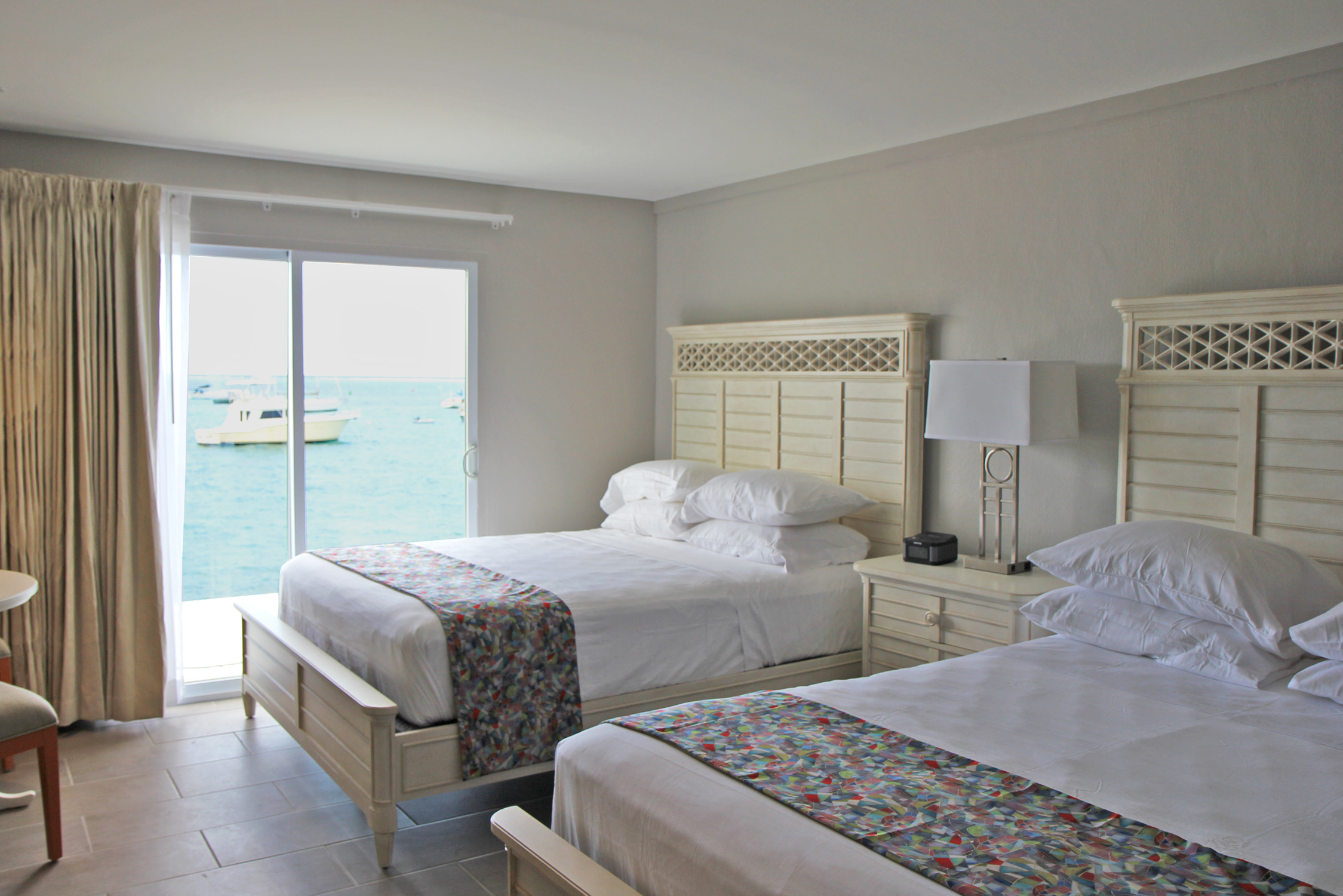 The New Room Design At Hotel Caravelle Is Brighter, More Relaxed With All  New Flooring, Linens And Furniture.