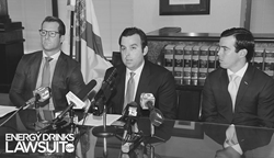 Energy Drinks Lawsuit Press Conference 2/8/16