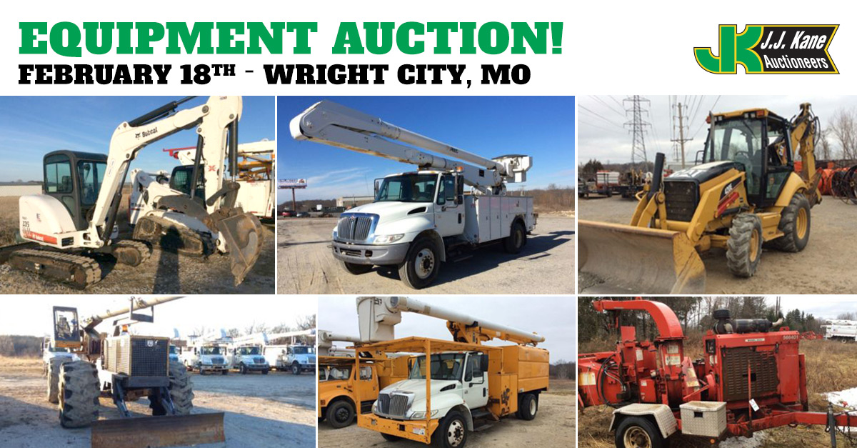 Equipment and auto auction wright city mo february 18 for A m salon equipment st louis mo