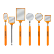 IMI Introduces New HiVis Orange Inspection Mirrors for FOD (Foreign Object Debris) Prevention