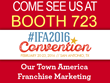 Our Town America Announces 2016 IFA Annual Convention Appearance