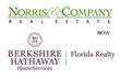 Berkshire Hathaway HomeServices Florida Realty announces the joining of Norris & Company Real Estate in Vero Beach