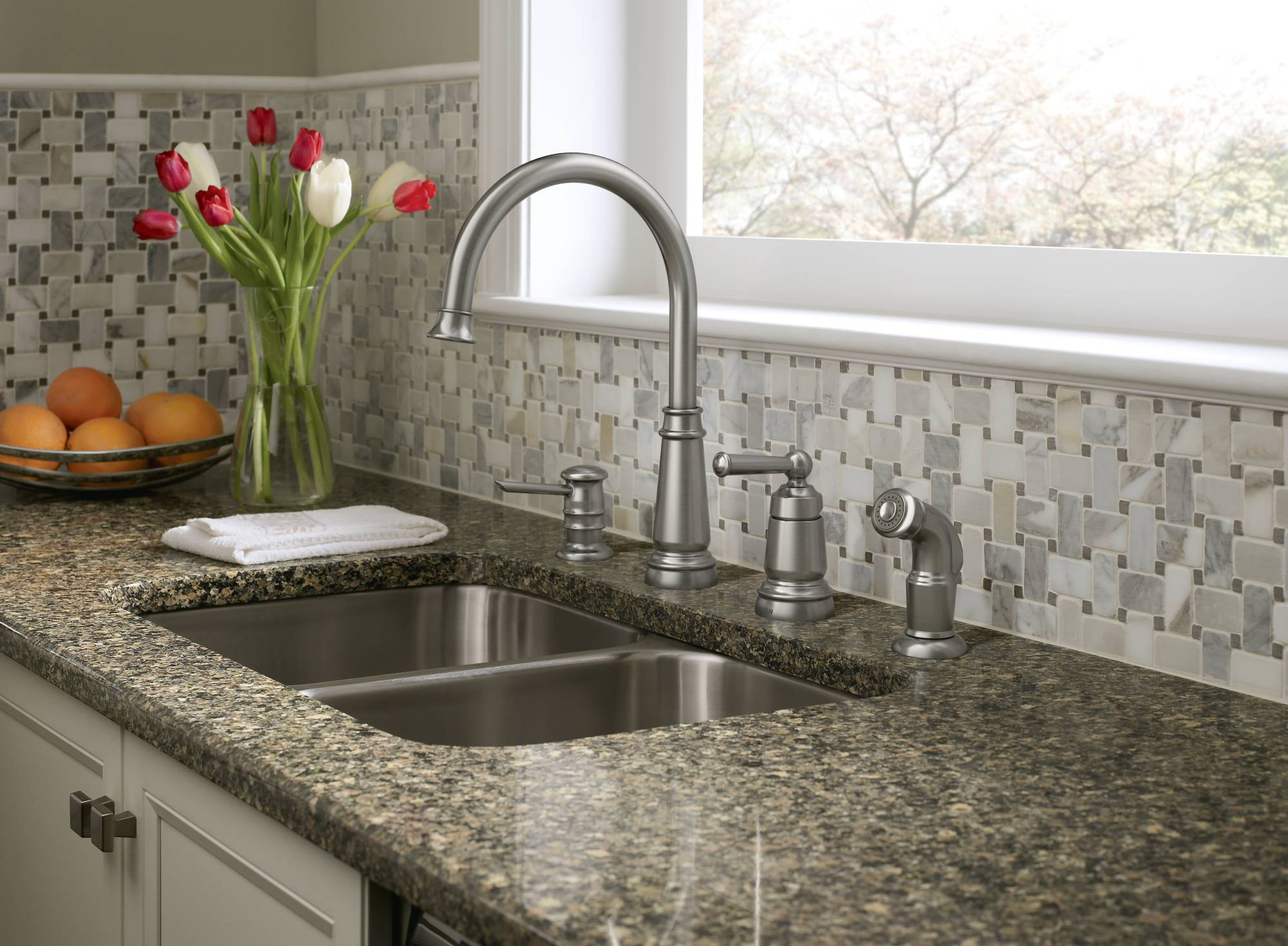 Moen Introduces Three New Kitchen Collections And Expands Existing - New kitchen faucet