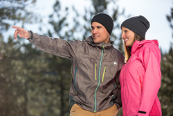 Windproof,100% waterproof, direct venting eVent fabric for maximum breathability.