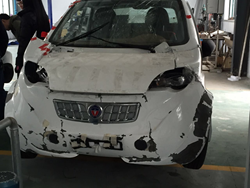 e-Go Frontal Crash Test Results