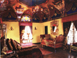 The Baroque Master Bedroom at The Cedars with a fresco domed ceiling Photo by Erhard Pfeiffer