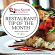 "Bielat Santore & Company Releases ""Restaurant Tip of the Month"" Flipbook"