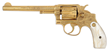 Lot 1748, a rare and exquisite factory engraved and gold plated Smith & Wesson 38 Hand Ejector 1st Model DA Revolver for the Pan-American Expo, 1901. Estimate:  $4K-7K.