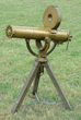 Lot 2065, a rare Colt Model 1883 US Navy Gatling Gun on tripod in Cal. 45/70. Very fine condition. Estimate: $150K-250K.