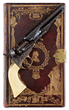 Lot 2109A, a rare engraved Colt Model 1862 Police with exceedingly rare Bookcase binding. In outstanding condition.  Estimate: $75K-110K.