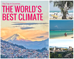 The Four Countries with the Best Weather in the...