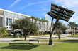 Spotlight Solar Trees Stand Tall at Orange County, FL Convention Center