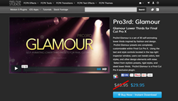 Pro3rd Glamour - Final Cut Pro X Effects and Plugins - Lower Thirds