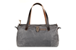 Vitesse Duffel—gray waxed canvas