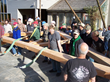 Since 1988, the Timber Framers Guild has collaborated with communities to create - and sometimes hand raise - over seventy-five timber frame structures.