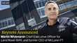 Martin Whitmarsh, CEO of Land Rover BAR, to Keynote CD-adapco's STAR Global Conference 2016