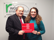 Frank Fazio, CEO and Danielle Myers, Sustainability Manager