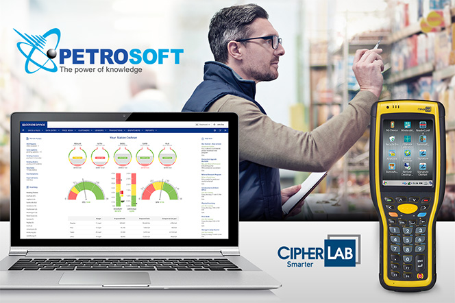 Cipherlab Usa Announces A Strategic Partnership With Petrosoft