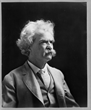 Mark Twain, 1907. Photograph. Library of Congress Prints and Photographs Division.