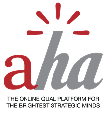 Aha! allows Market Researchers and Insights Strategist to Create Engaging Online Consumer Research Studies