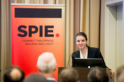 Noemie Levy of the OSTP was among speakers at a BRAIN hot topics session 14 February at SPIE Photonics West in San Francisco.