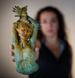 MSI's Carolina Rojas' Sculptures Featured in Celebrated Living