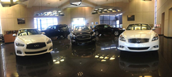 Ray Brandt Infiniti showroom before remodel - Metairie, LA