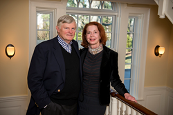 Stuart W. Edwards and Joanna Armiger Edwards (Photo by Howard Korn)