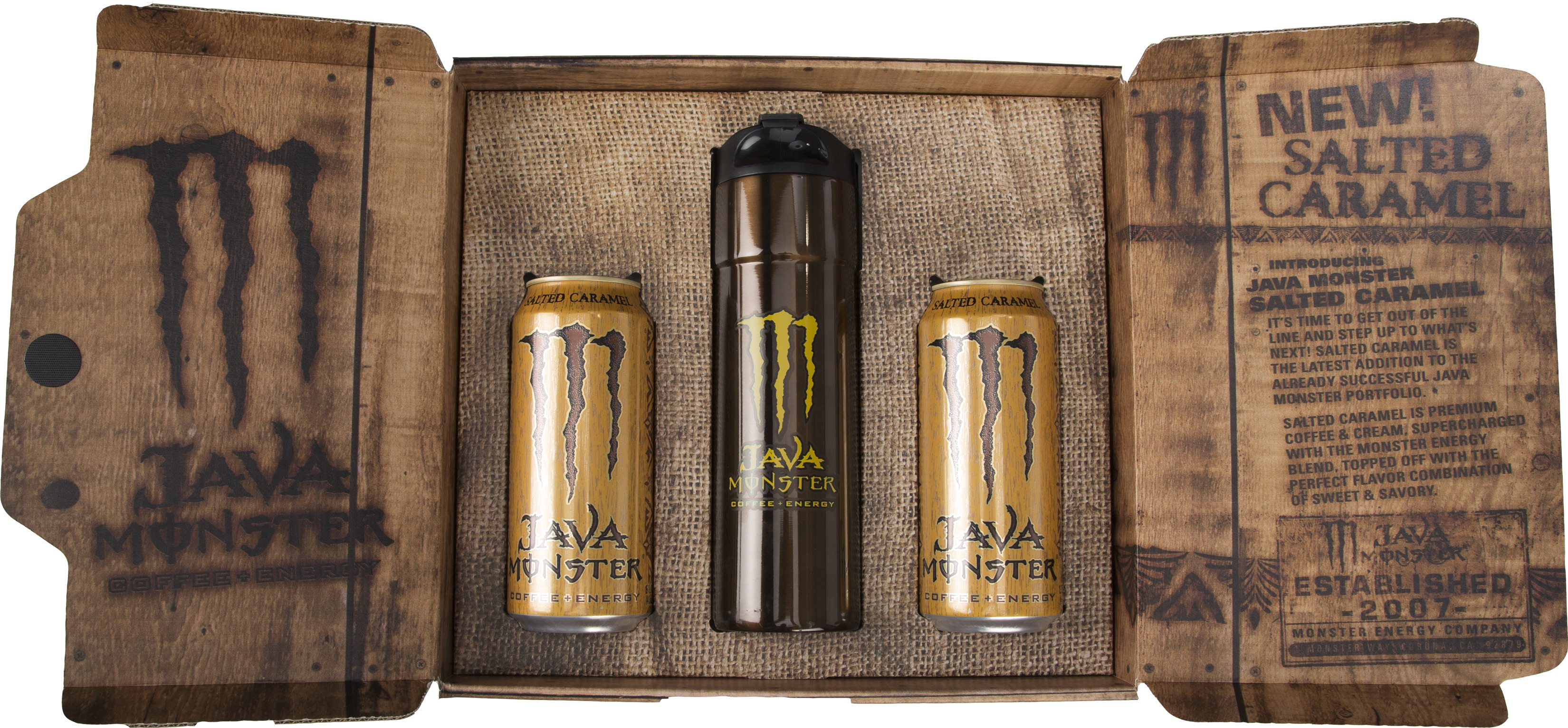 Java Monster Introduces Its Newest Drink Salted Caramel