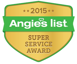 Crash of Rhinos 2015 Angies List Super Service Award