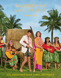 Americana Manhasset Spring 2015 Lookbook Cover