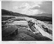 1871-Mammoth Hot Springs, YNP, Albertype