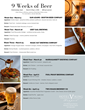 Craft Beer Dinner Pairing Series Hotel Viking Weeks 1-6