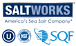 SaltWorks® Natural Sea Salt Supplier Now SQF Level 2 Certified, Rated Excellent