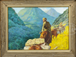 "HOWARD A. TERPNING, ""SEARCHING THE MOUNTAINS"" realized $124,425"