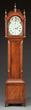 SIMON WILLARD FEDERAL MAHOGANY TALL CASE CLOCK realized $26,070