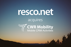 Resco acquires CWR Mobility's Microsoft Dynamics CRM line of business