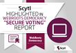 Scytl Highlighted in WebRoots Democracy Online Voting Report