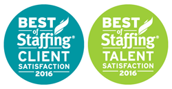 2016 Best of Staffing Winner