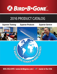 2016 Bird B Gone Product Catalog