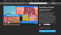 TranSlice Panel - Final Cut Pro X Effects
