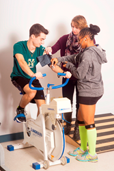 The demand for athletic trainers is projected to grow 21 percent from 2014 to 2024 - much faster than the average for all occupations.